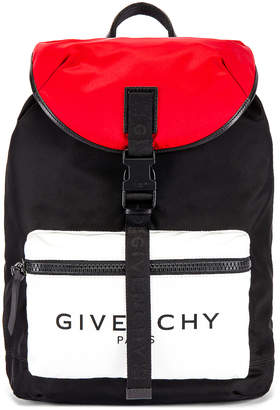 Givenchy Backpack in Black & Red & White | FWRD