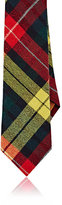 Alexander Olch MEN'S PLAID WOOL FLANNEL NECKTIE