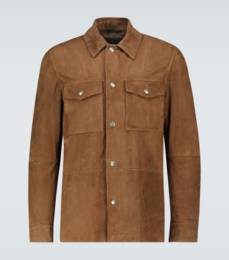 Tom Ford Suede overshirt jacket