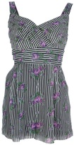 Anna Sui striped playsuit