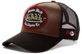 Von Dutch Faux Leather Trucker Hat