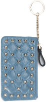 Valentino Garavani Valentino Spike Rockstud coin purse - women - Leather/metal - One Size