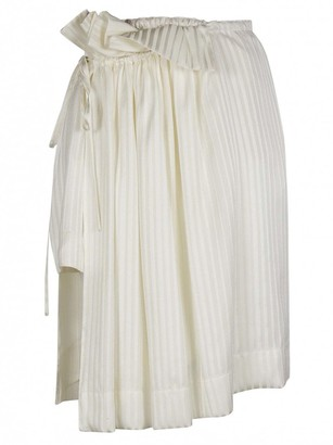 Stella McCartney Stella Mc Cartney White Silk Skirt for Women