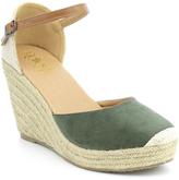 Refresh Khaki Ankle-Strap Sandra Espadrille