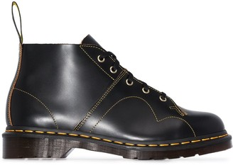 Dr. Martens Church lace-up ankle boots