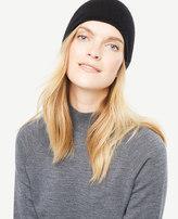 Ann Taylor Cashmere Jersey Hat