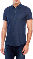 Antony Morato Printed Chambray Slim Fit Shirt
