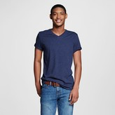 Mossimo Men's V-Neck T-Shirt Navy