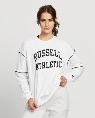 Russell Athletic Arch Applique Crew