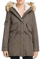 Aqua Faux Fur-Detail Parka - 100% Exclusive