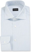 Ermenegildo Zegna Men's Micro-Striped Dress Shirt
