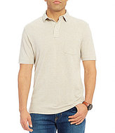 Daniel Cremieux Sonoran Trails Solid Melange Short-Sleeve Polo Shirt