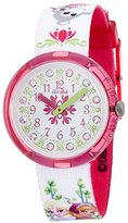 Swatch Kids' ZFLNP019 Analog Display Quartz Multi-Color Watch