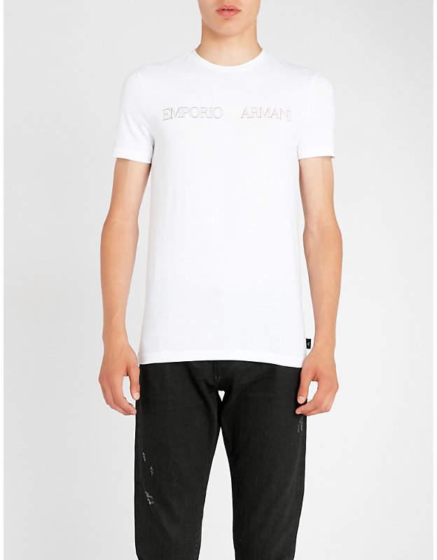 Emporio Armani Made In Italy logo T-shirt