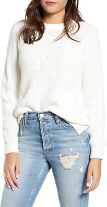 Vero Moda Shaker Stitch Crewneck Sweater