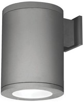 """W.A.C. Lighting Tube Outdoor Armed Sconce Finish: Graphite, Size: 11.75"""" H x 8"""" W x 10.75'' D"""
