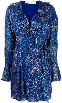 IRO Sibuco paisley-print dress