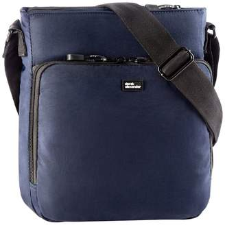 Derek Alexander Lifestyle Top Zip Organizational Crossbody Bag