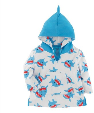 Zoocchini UPF50+ Baby Terry Swim Coverup Shark 0-12 Months