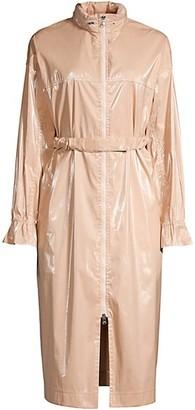 Michelle Waugh The Amy Patent Raincoat