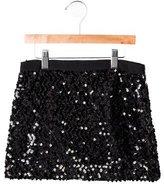 Milly Minis Girls' Sequined Mini Skirt