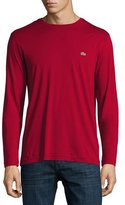 Lacoste Three-Pack Pima Cotton Long-Sleeve T-Shirts
