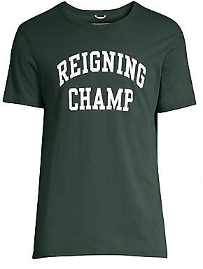 Reigning Champ Men's Varsity Regular-Fit Ivy League Pima Jersey Tee