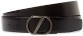 Z Zegna Men's Interchangeable Buckle Leather Belt Box