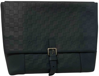 Louis Vuitton Navy Leather Bags