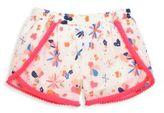 Egg Baby Baby's, Toddler's & Little Girl's Valerie Floral Pom-Pom Shorts