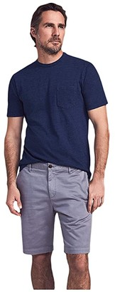 Faherty Stretch Chino Shorts (Steel) Men's Clothing