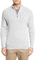 Tommy Bahama Men's Ocean Crest Quarter Zip Sweater