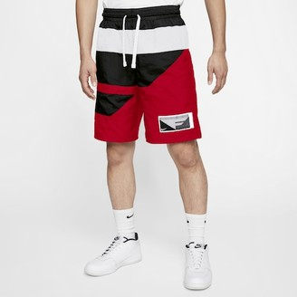 Nike Flight Shorts - Red / Black White