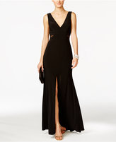 Xscape Evenings Illusion Flyaway Gown