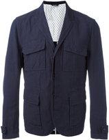 Dolce & Gabbana cargo jacket - men - Cotton/Linen/Flax/Polyamide/Viscose - 52