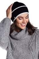 Anne Klein Ribbed Knit Folded Beanie