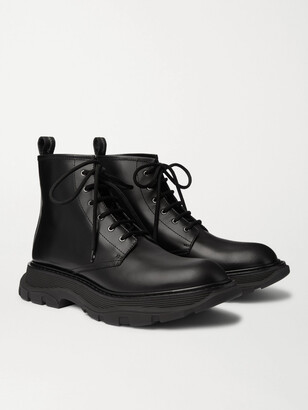 Alexander McQueen Leather Boots