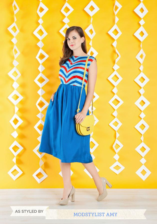 Lauren Moffatt Over and Overlook Dress