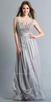 Dave and Johnny Iridescent Jeweled Bodice Prom Dress
