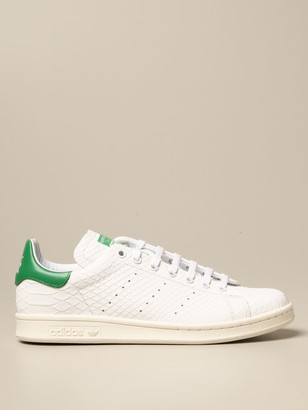 adidas Stan Smith Sneakers In Python-effect Leather