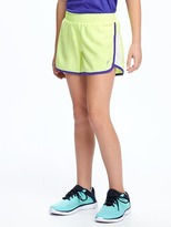 Old Navy Go-Dry Cool Mesh-Trim Run Shorts for Girls