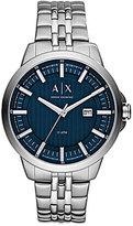 Armani Exchange Copeland Analog & Date Bracelet Watch