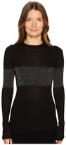Cashmere In Love - Vivien Pullover with Lurex Panels Women's Clothing