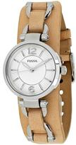 Fossil Georgia Artisan Collection ES3854 Women's Stainless Steel Analog Watch