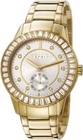 Esprit ES107422004 - Women's Watch, Stainless Steel, Gold Tone