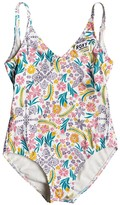 Roxy Girls' California Diary One Piece Swimsuit (716) - 8164764