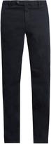 J.w.brine J.W. BRINE James slim-leg stretch-cotton jacquard trousers