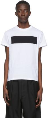 Random Identities White No Logo T-Shirt