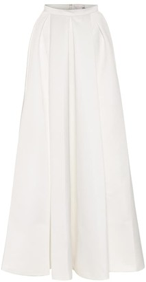 Temperley London Betsy satin bridal maxi skirt