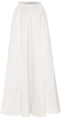 Temperley London Betsy satin bridal maxi skirt